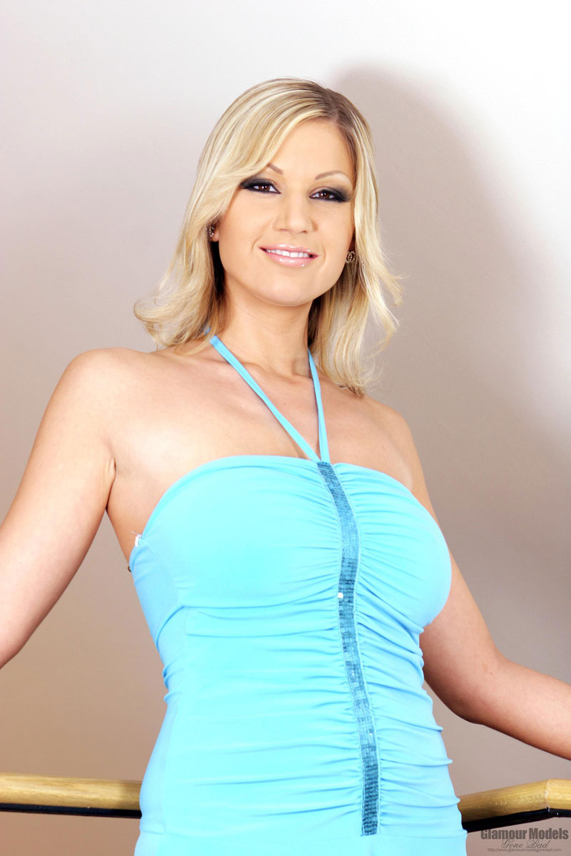 Carol Goldnerova - Blonde With Dildo - Glamour Models Gone