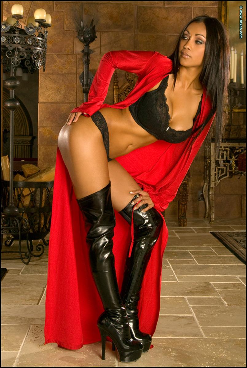 Priya Rai Ravishing in Red