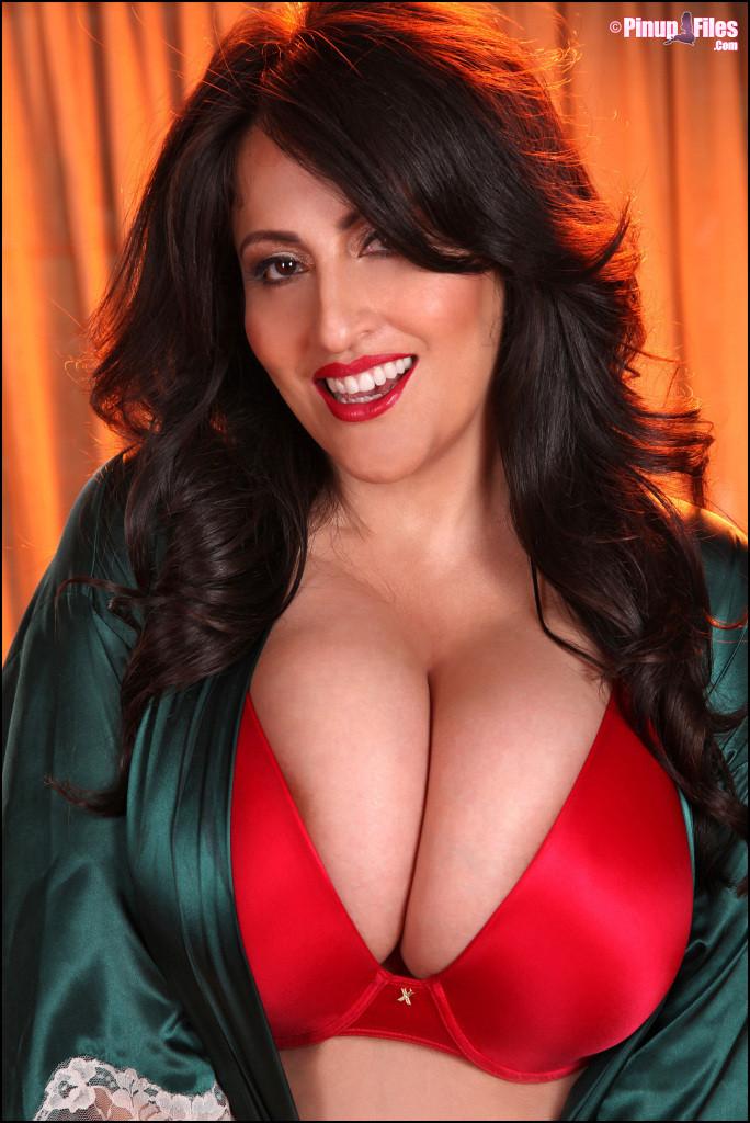 Antonella Kahllo Latina Pinup Model with Huge Boobs